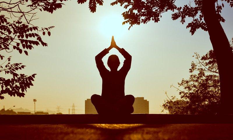 person meditating, Self care, Miami, FL