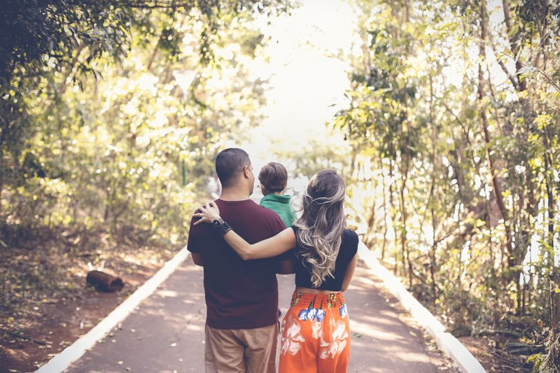 family walking together, self-care for families, Ft. Lauderdale, FL