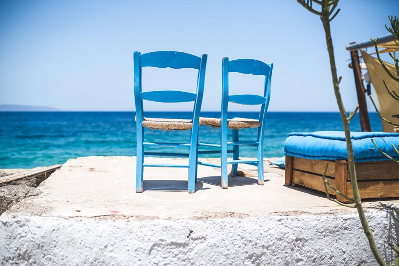 two chairs at beach, self-esteem and self-care therapy, Ft. Lauderdale, FL