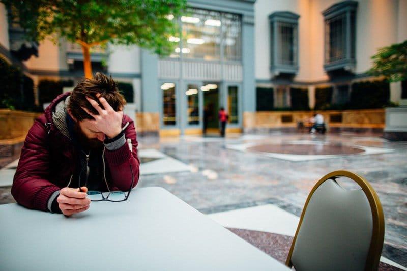 man avoiding office building, Avoidance Anxiety, Ft. Lauderdale, FL