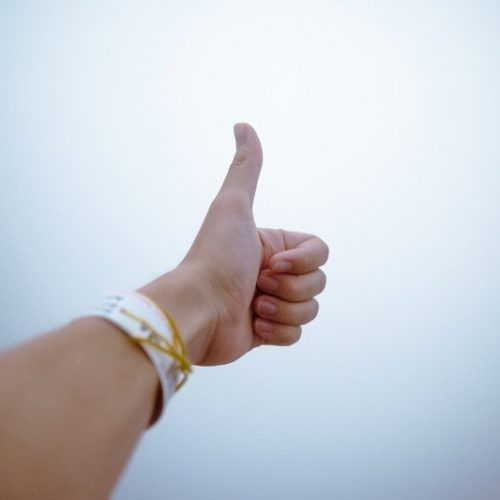 thumbs up, visualize success, anxiety therapy, Miami fl