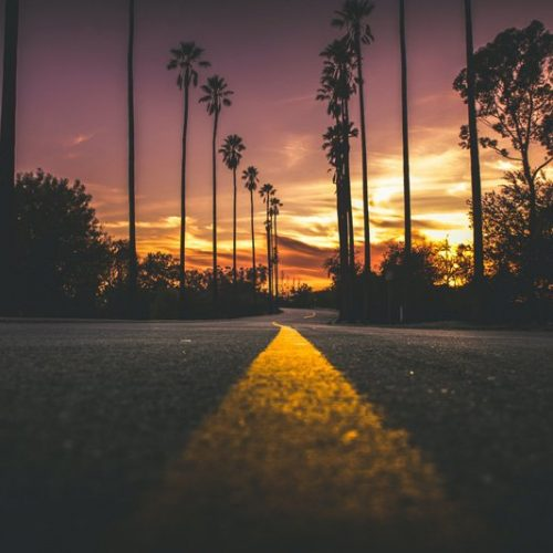 road at sunset, love and self-esteem therapy, Ft. Lauderdale, FL