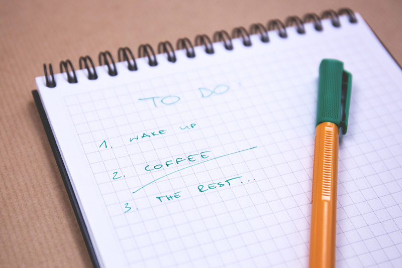 to do list, Self-Esteem and Anxiety Therapy, Ft. Lauderdale, FL